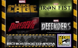 Fiere: San Diego Comicon 2016 – Netflix Panel – Luke Cage / Iron Fist / Daredevil / The Defenders Trailers