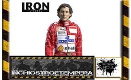 Preorders: Iron Studios – Ayrton Senna Action Figure 1/6 Ayrton Senna – GP São Paulo1993