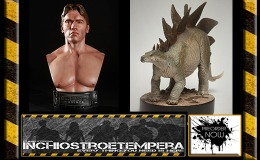 Preorders: Chronicle Terminator Genisys: 1984 Terminator 1/2 Bust + The Lost World: Stegosaurus Maquette