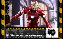 Preorder: Hot Toys – Iron Man Mark VI Sixth Scale Figure DIECAST Movie Masterpiece Series