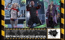 OFFERTA – Preorder: Hot Toys – Suicide Squad Harley, The Joker & Deadshot 12″ Figure set bundle