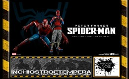 Preorders: Marvel x ThreeA – PETER PARKER / SPIDER-MAN 1/6th Scale Collectible Figure Set