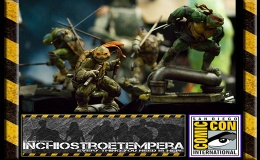 Fiere: San Diego Comicon 2016 – Sideshow – Teenage Mutant Ninja Turtles Statue
