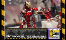 Fiere: San Diego Comicon 2016 – Lo Stand Comicave Studios – Iron Man Figures and Captain America Statues