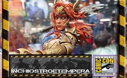 Fiere: San Diego Comicon 2016 – Lo Stand Sideshow – Angela, Gamora & GrootDiorama