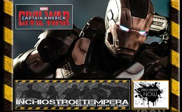 Preorders: Iron Studios – Captain America Civil War Statue 1/4 War Machine Mark III