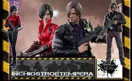 Preorder: Hot Toys: Resident Evil – Ada Wong +  Leon S Kennedy 12″ Figures