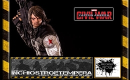 Preorders: Iron Studios – Captain America Civil War Statue 1/4 Winter Soldier