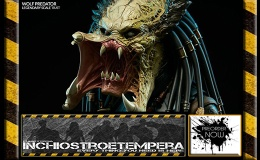 Preorders: Sideshow – Alien vs Predator: Wolf Predator Legendary ScaleBust