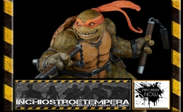 Preorders: Sideshow Collectibles – TMNT Michelangelo Statue