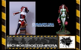 Preorders: Yamato – Luis Rojo – Poison Ivy + Harley Quinn Web Ex. 1/6Statues