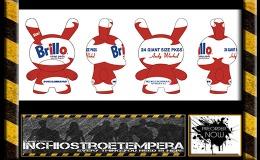 "Preorders: Kidrobot – 8"" Warhol Dunny Masterpiece – BrilloWhite"