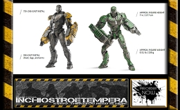 Preorders: Comicave – Iron Man: Striker & Gamma 1/12 scale Two-Pack