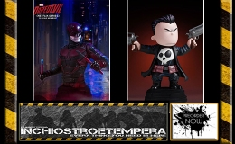 Preorders: Gentle Giant – Punisher by Skottie Young + Daredevil TV Series Bust