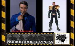 Preorders: 3A Toys – 2000 AD: Judge Dredd + Dr. Hannibal Lecter 1/6 scale Figures