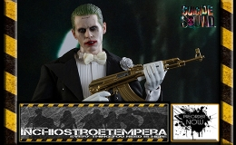 Preorders: Hot Toys – Jared Let as The Joker (Tuxedo Version) 12″ Figure Suicide Squad Movie Masterpiece Series