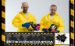 Preorders: ThreeZero – Breaking Bad 12″ Figure 2-Pack – Heisenberg & Jesse Pinkman Hazmat Suit