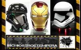 Preorders: Camino – Bluetooth Speaker 1/1 Helmets – Star Wars Troopers, Iron Man, War Machine