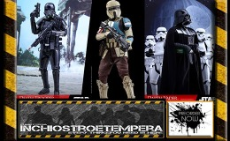 Preorders: Sideshow / Hot Toys – Star Wars Rogue One Death Trooper, Darth Vader, TIE Pilot, Shoretrooper 12″ Figures