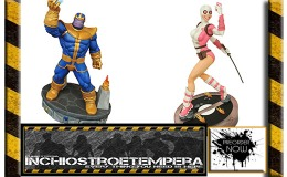 Preorders: Diamond – Marvel: Premium Collection Thanos Statue + Gwenpool Figure