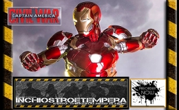 Preorders: Iron Studios – Captain america – Civil War 1/4 & 1/10 Statues