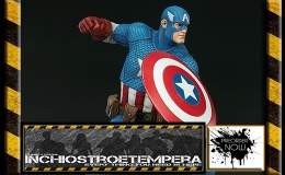 Preorders: Sideshow Collectibles – Captain America Statue Avengers Assemble