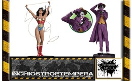 Preorders: Wonder Woman by Adam Hughes, The Joker by Brian Bolland 1/6 Statues