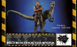Preorders: Chronicle Collectibles – JURASSIC WORLD OWEN AND BLUE 1/9 SCALE STATUE