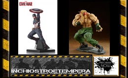 Preorders: Iron Studios – Cap. America, Neca – Terminator, Embrace Japan – Street Fighter