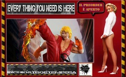Preorders: PCS – Street Fighter IV Statue 1/4 Ken + Action Figure 1/12 Zangief