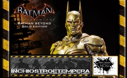Preorders: Prime 1 Studio – Batman Arkham Knight 1/3 Statue Batman Beyond Gold Edition