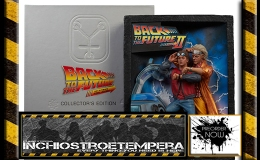 Preorders: Insight Collectibles – Back to the Future Diorama Sculpted Movie Poster & Ultimate Visual History Collectors Edition