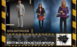 Preorders: Big Chief Studios – James Bond Goldfinger + Doctor Who 12″ Figures