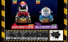 Preorders: Toy Story Egg Attack Floating Model Alien's Rocket + Buzz' Spaceship