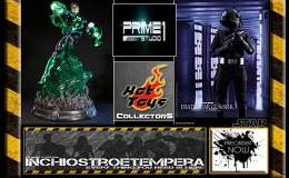 Preorders: Prime 1 Studio Green Lantern Statue + Hot Toys Star WArs Death Star Gunner 12″ Figure