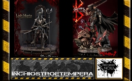 Preorders: Prime 1 Studio – Berserk  Guts, Bloodborne The Old Hunters Lady Maria of the Astral Clocktower Statues