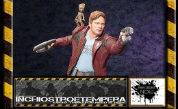 Preorders: Kotobukiya – Guardians of the Galaxy ARTFX Statue 1/6 Star Lord with Groot