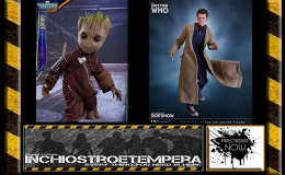 Preorders: Hot Toys: GOTG 2 Groot + BIG Chief Studios – Dr. Who 10th Doctor Figures