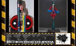 Preorders: Gentle Giant – Bookends Deadpool Logo + Spider-Man 1/8 Statue