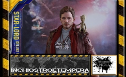 Preorders: Hot Toys – Star-Lord 12″ Figure Deluxe Version Guardians of the Galaxy II