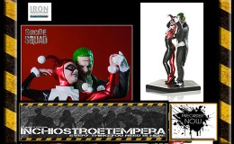 Preorders: Iron Studios – Deluxe Statue 1/10 Suicide Squad Harley Quinn & The Joker