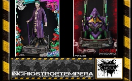 Preorders: Prime 1 Studio – Suicide Squad Jared Leto as The Joker + Neon Genesis Evangelion Bust