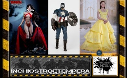 Preorders: Hot Toys Emma Watson as Belle, Phicen Vampirella, 3AToys Captain America 12″ Figures