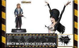 Preorders: Elvira Mistress of the Dark Maquette – Vegas or Bust, Labirinth, Pulp Fiction