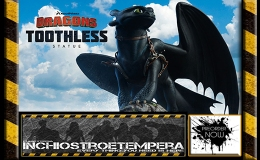 Preorders: Sideshow Collectibles – Toothless Statue – How to Train Your Dragon