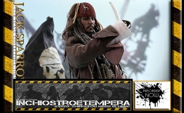 Preorders: Hot Toys – Jack Sparrow 12″ Figure Pirates of the Caribbean: Dead Men Tell No Tales – Movie Masterpiece Series