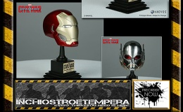 Preorder: ANOVOS – Captain America Civil War Marvel Armory Collection Replica 1/3 Helmets