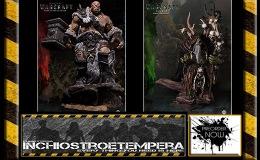 Preorder: Damtoys – Warcraft Epic Series Premium Statue Orgrim &Guldan