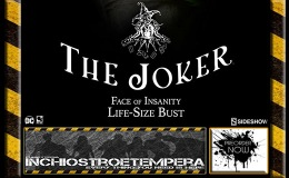 Preorder: Sideshow Collectibles – The Joker Life-Size Bust Face of Insanity