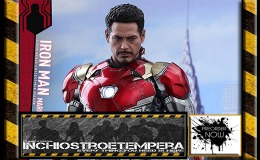 Preorder: Hot Toys – Iron Man Mark XLVII Sixth Scale Figure Spider-Man: Homecoming – Movie Masterpiece Series Diecast